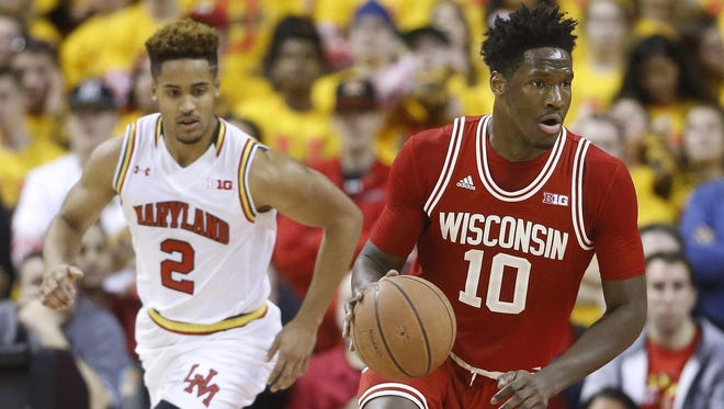 Wisconsin forward Nigel Hayes has taken to social media to advocate for student-athletes.