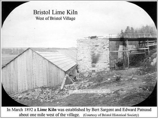 1892 - lime kiln