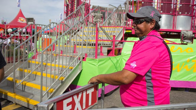 Wayne Pierce used to drive a truck for a living, but he gave that up for the carnival life 20 years ago.