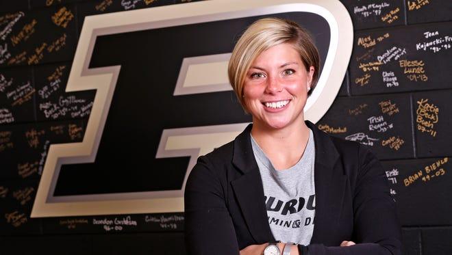 Purdue swimmer Emily Fogle has won another award.