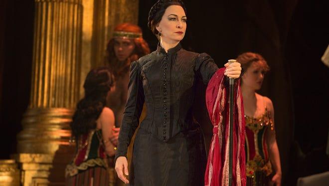 "Anne Kanengeiser as Madame Giry in ""The Phantom of the Opera."""