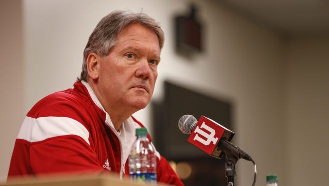 FILE – IU AD Fred Glass is looking for a football opponent for the Hoosiers for Oct. 7.
