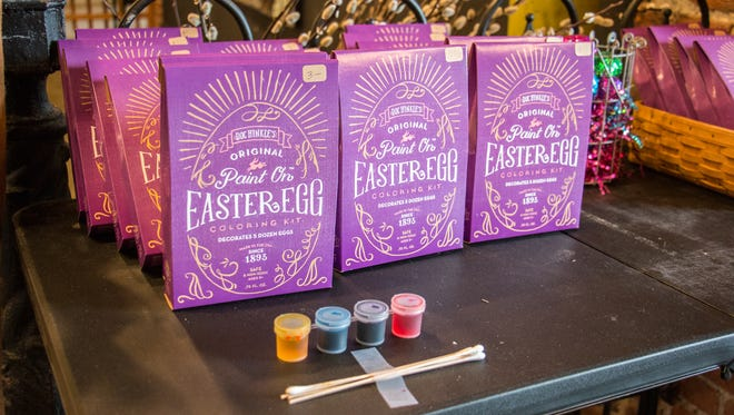 Doc Hinkle's original Easter Egg Coloring Kit.
