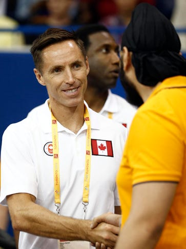 Steve Nash is now the general manager of Canada's national