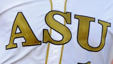 Alabama State ASU baseball jersey uniform