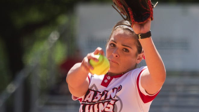 UL right-hander Alex Stewart , shown here earlier this month, pitched effectively at No. 1 Florida in a 3-0 loss for the Cajuns.