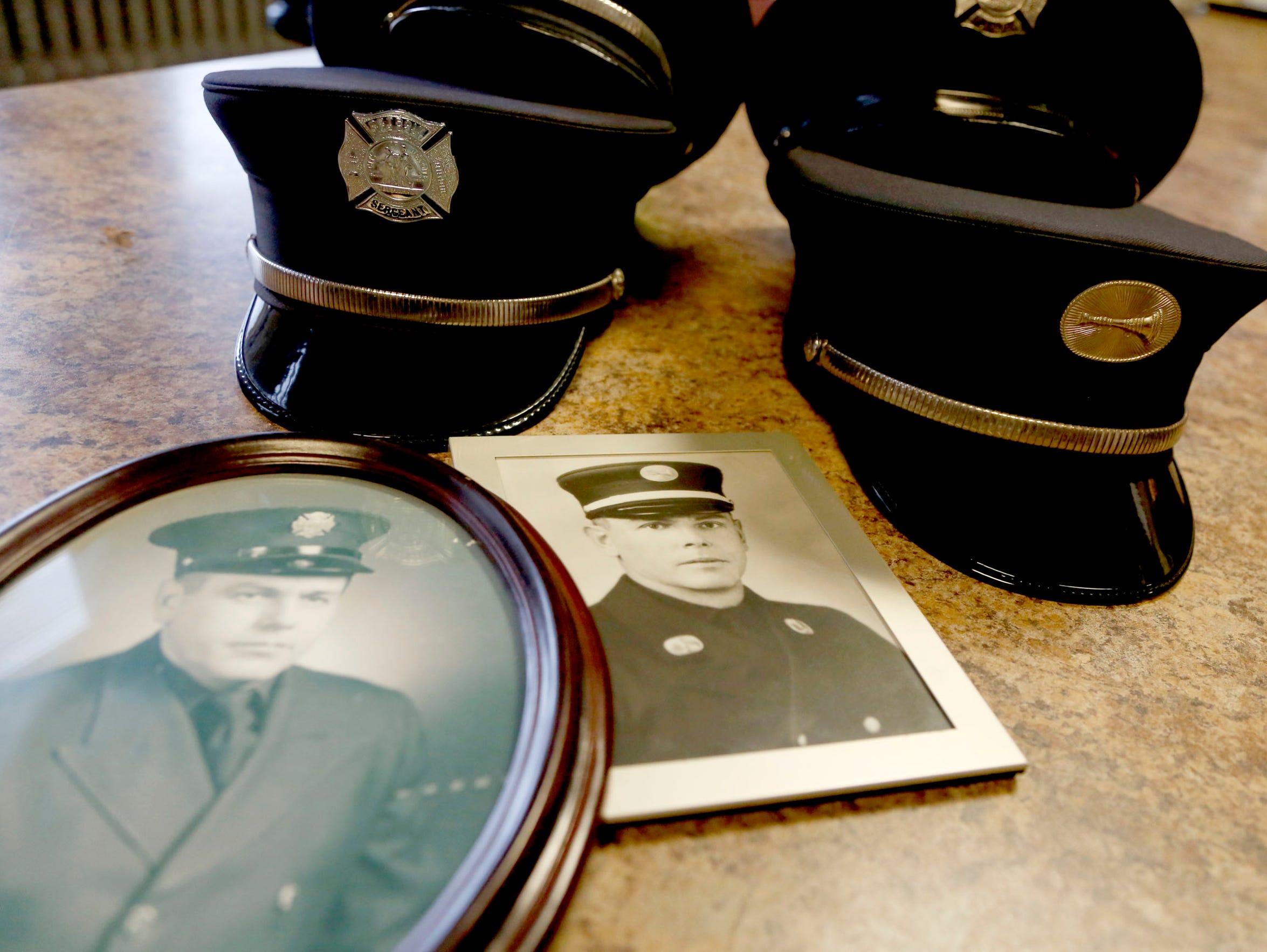 Detroit Fire Department firefighters Lt. John E. Doll
