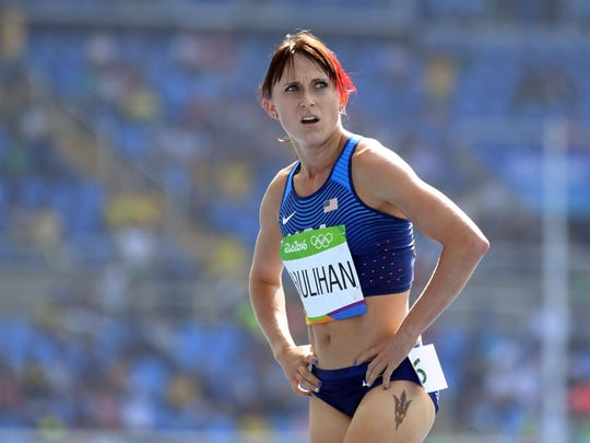 Shelby Houlihan (USA) during the women's 5000-meter