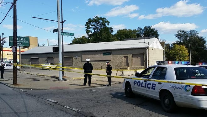 Police are investigating a Sunday afternoon Walnut Hills shooting that left two injured.