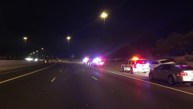 Two men were shot in a road-rage incident near Loop 101 and Indian School Road on Wednesday.