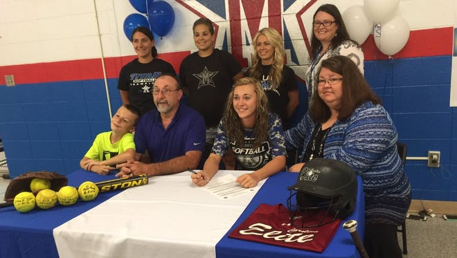 McDowell senior Michalyn Bingham has signed to play college softball for Indian River State (Fla.).
