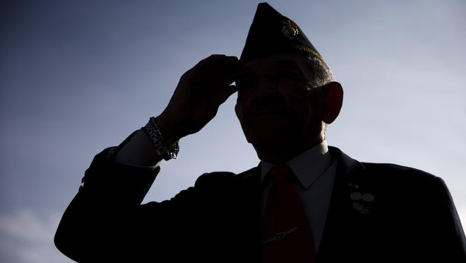 Businesses are saluting veterans and active-duty military personnel Sunday and Monday.