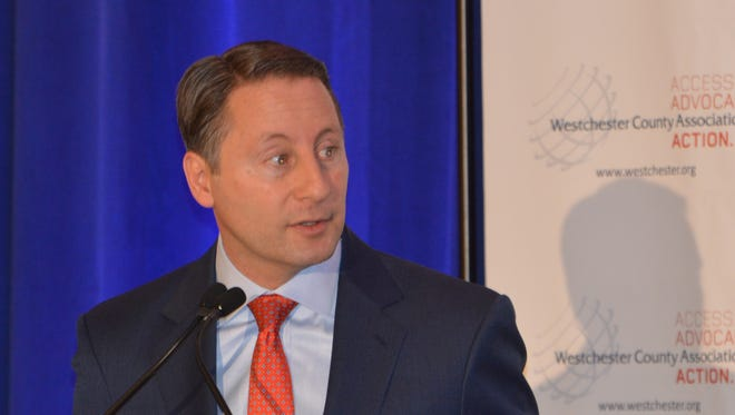 Westchester County Executive Rob Astorino presented a five-point plan for economic revival.