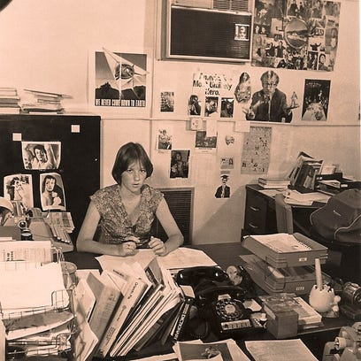 Lisa Lochridge served as editor in 1977 at age 19.