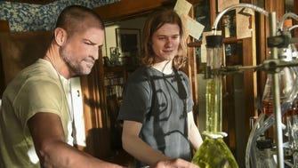 CBS's 'MacGyver' remake, starring George Eads (left) and Lucas Till, generated the most offline chatter during premiere week....