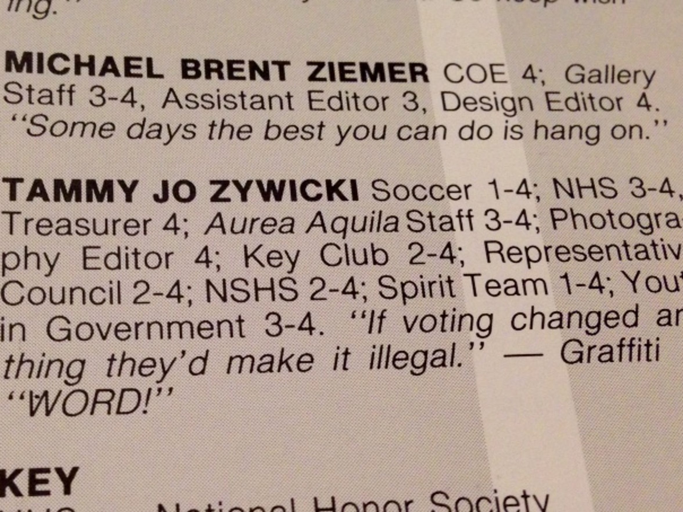 Tammy Zywicki wanted to be a Spanish teacher at a small