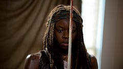 Michonne we are trusting you to get everyone through