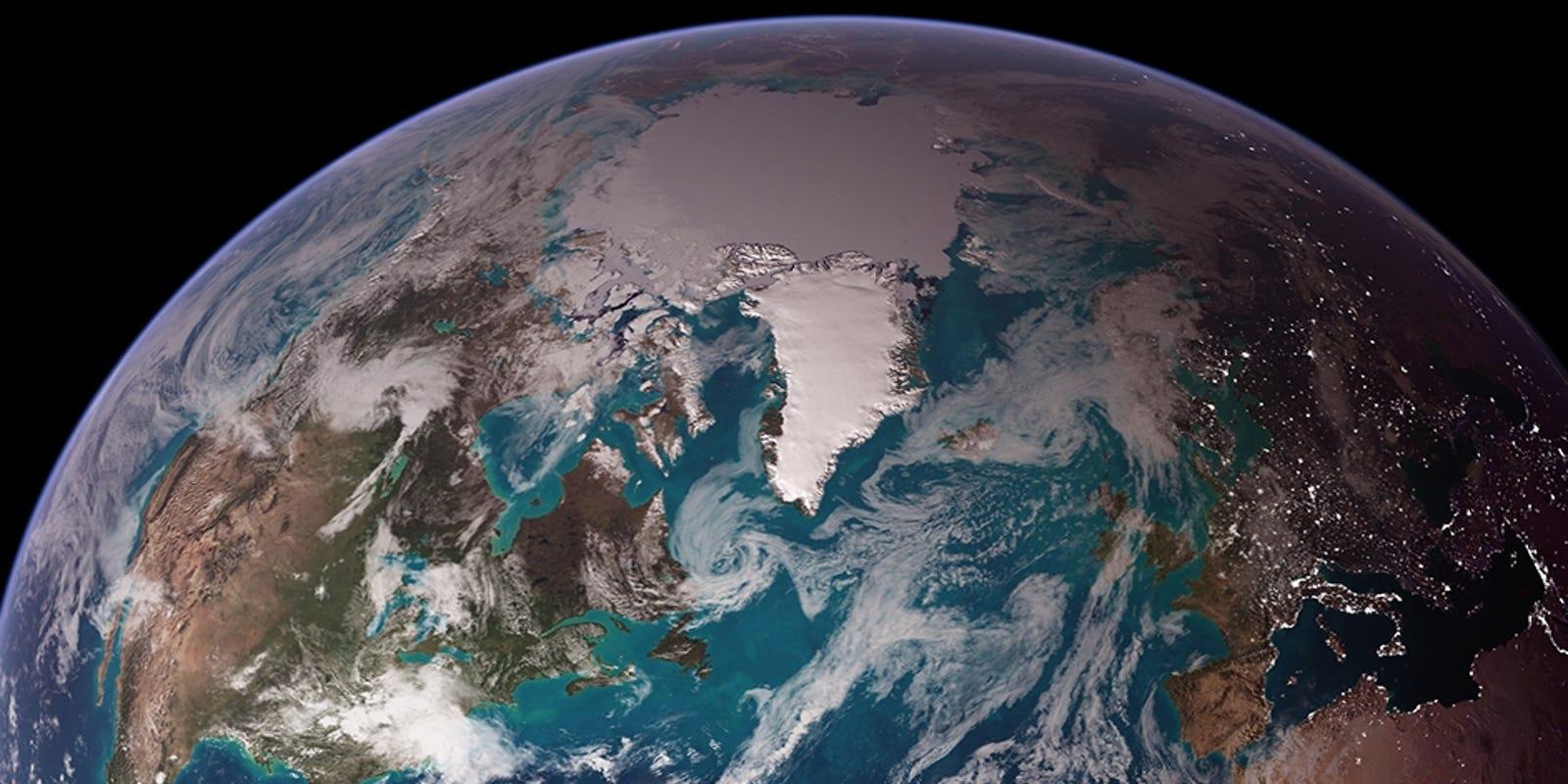 nasa confirms climate change is fake - HD1600×800