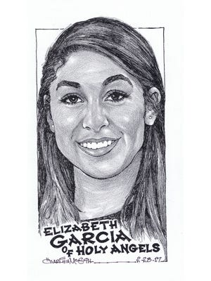 Elizabeth Garcia, Holy Angels basketball