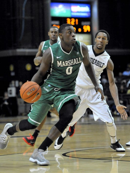 NCAA Basketball: Marshall at Vanderbilt