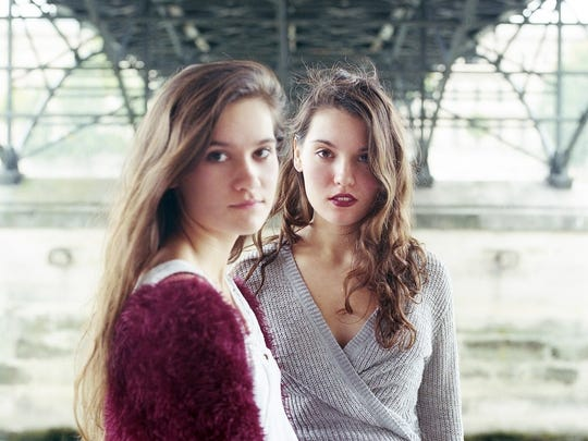 """Lily & Madeleine (from left, Lily and Madeleine Jurkiewicz) will perform at the """"Looking for Margo After-Party"""" on July 14 at Indy Reads Books."""