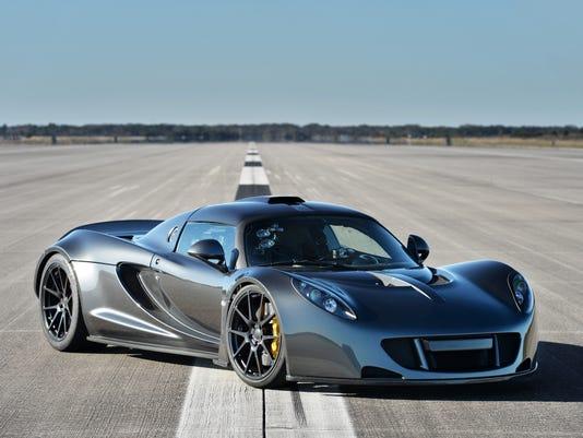 WATCH: Hennessey Venom GT hits 270 mph