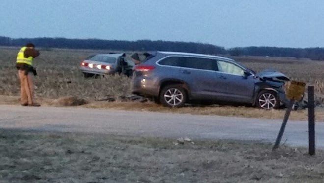 White County sheriff's deputies investigated two crashes Wednesday. One of the crashes was a fatal accident.