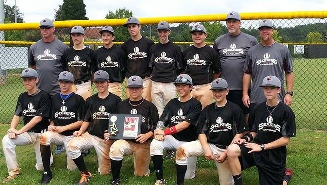 The Carolina Shockers 14U baseball team