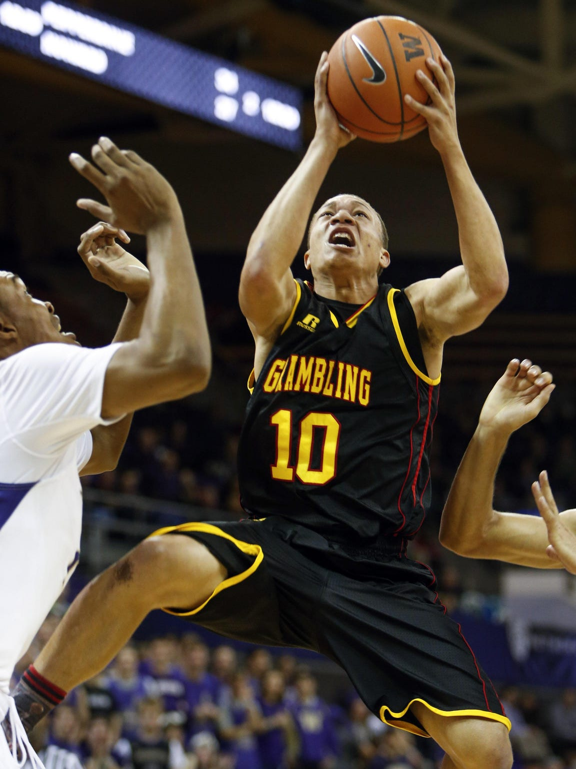 Grambling point guard Chase Cormier logged more than