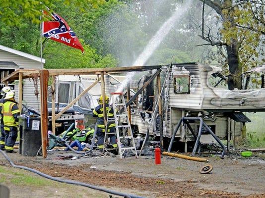 Fatal Camper Fire