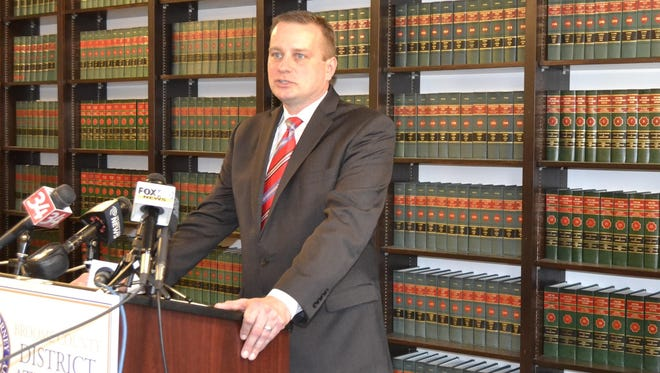 Broome County District Attorney Stephen Cornwell introduces Operation SAFE, designed to get drug addicts into treatment and prevent crimes, in February.