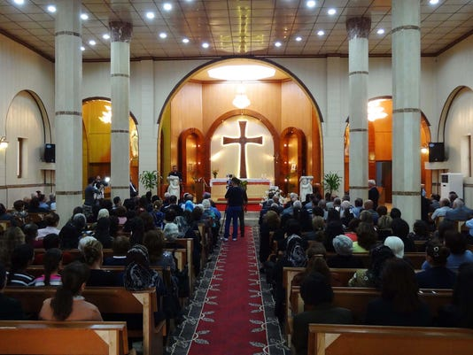 IRAQ-CONFLICT-CHRISTIAN-RELIGION