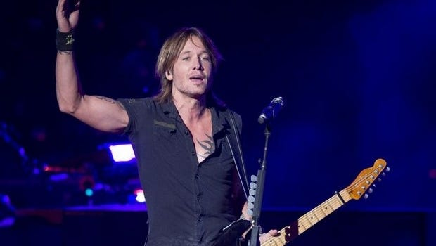 Country music singer Keith Urban performed at Klipsch Music Center Aug. 24, 2013.