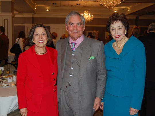 Van Eaton & Romero Realtors celebrated the accomplishments of 2015 at the company's Top Producer Awards, held Wednesday at LafayetteÕs City Club, Shown, from left to right, are the company's owners/brokers: Gail Romero, Bill Bacque and Nancy Van Eaton Prince.