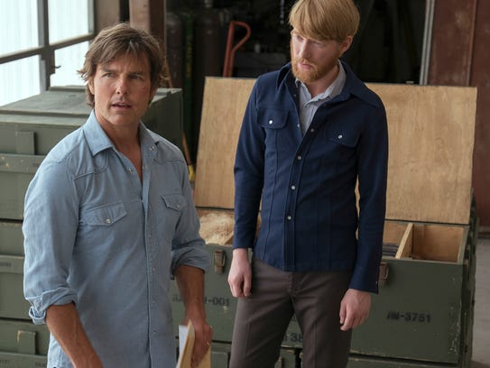 Schafer (Domhnall Gleeson, right) recruits Barry (Tom
