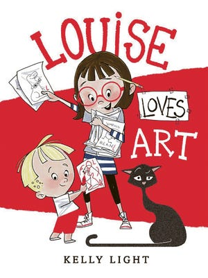 "The spunky little girl in ""Louise Loves Art"" is hard to resist."