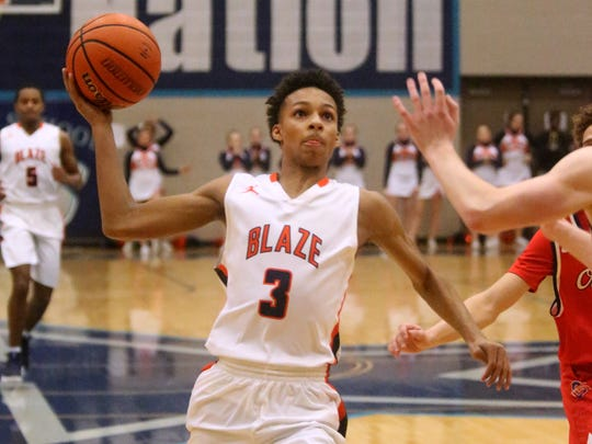 Blackman guard Donovan Sims will play at MTSU next season.