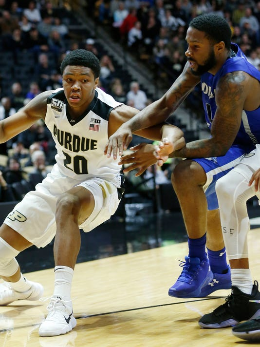 LAF Indiana St at Purdue exhibition