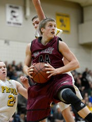 De Pere senior forward Brevin Pritzl recently signed a letter of intent to play at the University of Wisconsin next season.