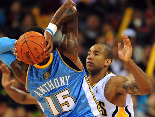 Dahntay Jones was brought to Indiana for his defense.