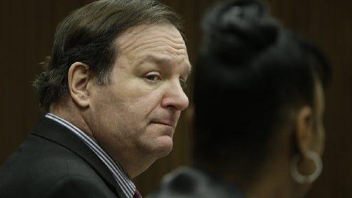 Bob Bashara in court.