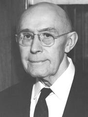 Dr. Henry Moershel practiced medicine in Homestead as well as serving as a leader in the Amana Church and the Amana community at large.
