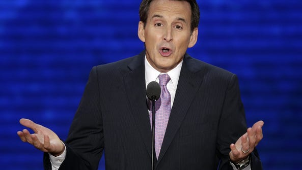 Tim Pawlenty addresses the Republican National Convention