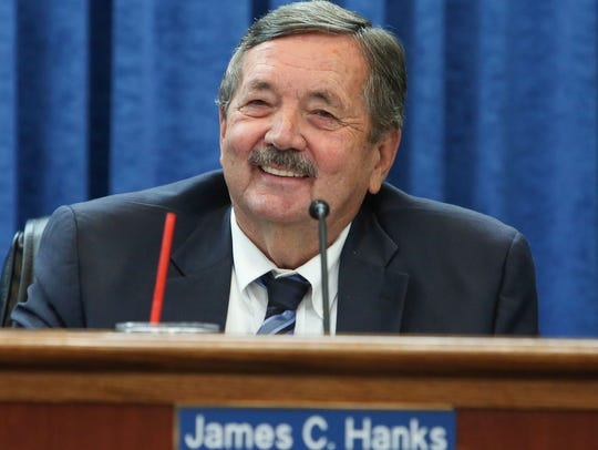 Jim Hanks of the Imperial Irrigation District's board