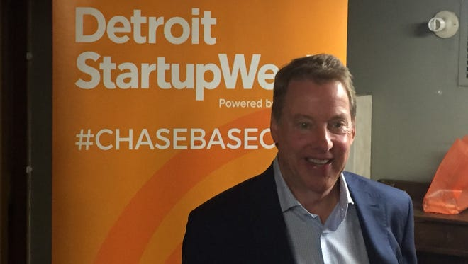 Ford Executive Chairman Bill Ford spoke about the future of the automotive industry and entrepreneurship at Detroit Startup Week in Detroit on May 23, 2016.