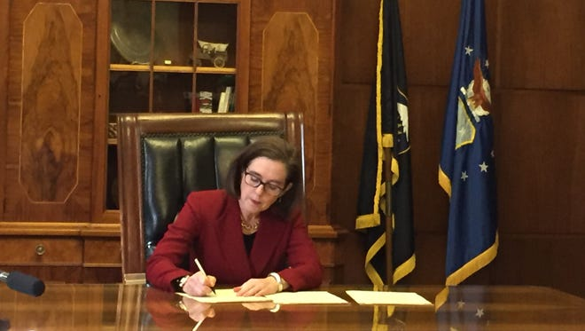 Oregon Gov. Kate Brown has signed an order prohibiting the state from participating in the creation of a Muslim registry.