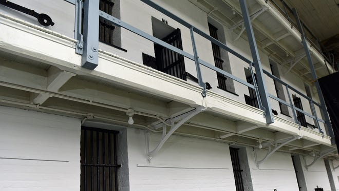 """Franklin County Visitors Bureau is hosting """"Spring into History"""" tours starting Saturday April 16.  While the entire jail will be open for tours, a focus will be on the old cell blocks and dungeons."""