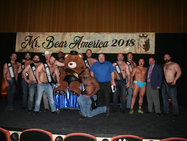 Gay bears web series Palm Springs beauty pageant setting