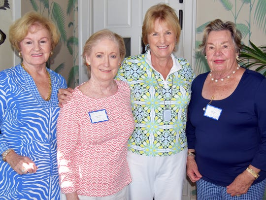Lee Ann Daly, Chris Talbot, Sandy Johnson and Mary