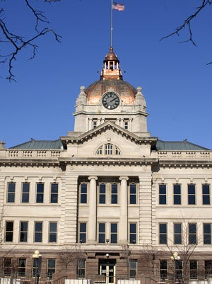 The Brown County Courthouse.